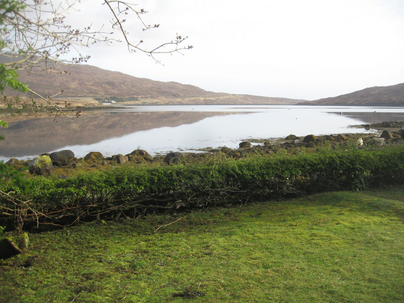 Lochside cottage, Scaladale, Isle of Harris